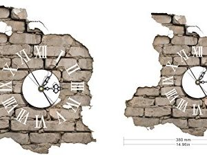 LifeUp-Orologio-da-Parete-Moderni-Design-silenzio-Numeri-Romani-Adesivi-Murali-3D-Decorazioni-Soggiorno-Camera-da-Letto-Casa-Regalo-Originale-Natale-Compleanno-3938cm-0-0