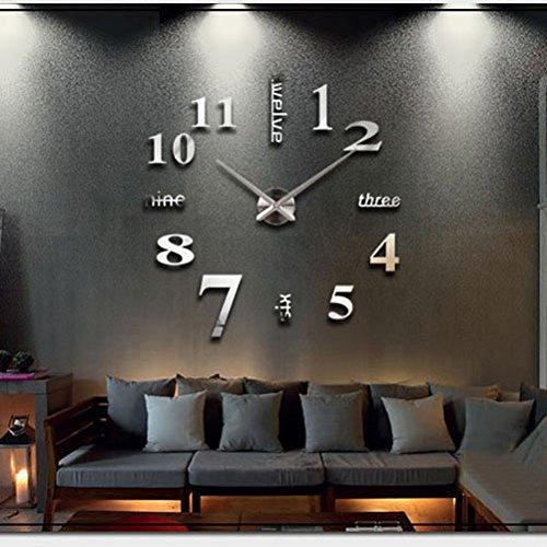 Orologio da parete effetto tridimensionale mukkamu shop for Orologi parete moderni