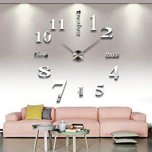 Soled-Orologio-da-Parete-Effetto-Tridimensionale-3D-Sticker-Decorazione-per-Casa-Ufficio-Hotel-Ristorante-Fai-Da-Te-0