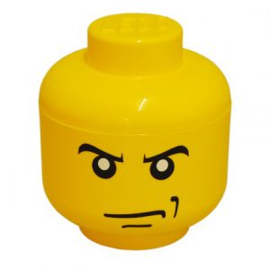 Room-Copenhagen-40310107-Testa-lego-S-Angry-Man-Colore-Giallo-0-0