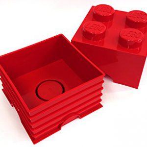 Room-Copenhagen-PT40030-Lego-Storage-Mattoncino-colore-Rosso-0-0