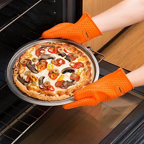 Ineibo kitchen guanti da cucina guanti da forno guanti barbecue in silicone mukkamu shop - Guanti da cucina ...