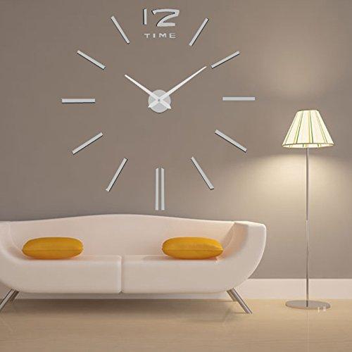 Orologio da parete mukkamu shop - Parete in legno fai da te ...